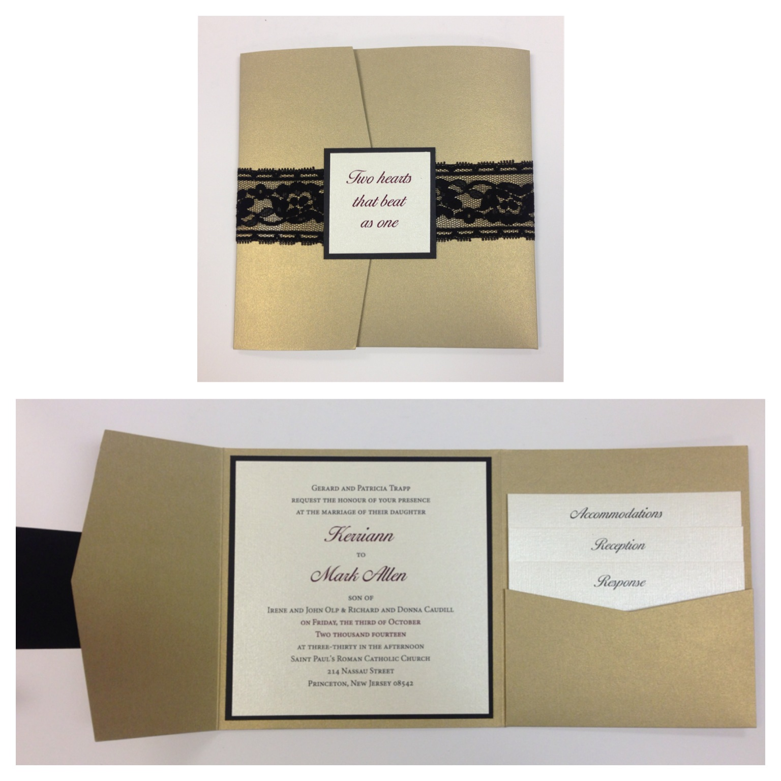 Wedding Invitations Nj is luxury invitations design